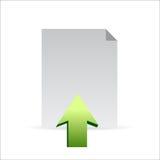 Upload icon concept illustration design graphic Stock Photos