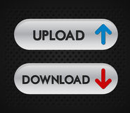 Upload icon Royalty Free Stock Photo