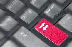 Upload keyboard Royalty Free Stock Image