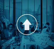 Upload Networking Technology Internet Growth Success Concept Royalty Free Stock Image