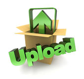 Upload sign Royalty Free Stock Images