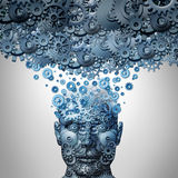 Upload Your Mind Stock Photography