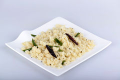 Upma or Uppuma Stock Photo