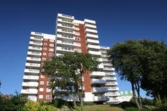 Upmarket Condominiums. Smart Apartment block Royalty Free Stock Photos