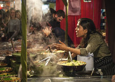 UpMarket Food stand Royalty Free Stock Photos