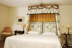 Upmarket Hotel Bedroom Stock Image