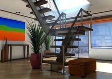 upmarket lägenhet Royaltyfria Bilder