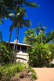 Upmarket tropical villa Royalty Free Stock Images