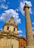 Uppåtriktad sikt i Rome Fotografering för Bildbyråer