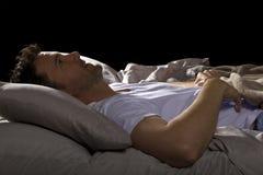 Upp hela natten Fotografering för Bildbyråer