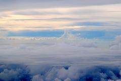 Upp i skyen Royaltyfri Foto