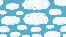 Upp over moln arkivfilmer