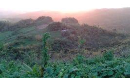 Upp på berget Royaltyfria Bilder