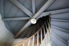 Upp trappan på smällPA i Royal Palace Arkivfoto