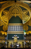 Uppatasanti pagod i den Naypyidaw staden (Nay Pyi Taw), huvudstad av Myanmar (Burma). royaltyfri foto