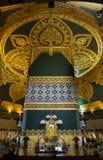 Uppatasanti pagoda in Naypyidaw city (Nay Pyi Taw), capital city of Myanmar (Burma). Royalty Free Stock Photo