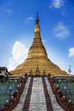 Uppatasanti pagoda No.1 landmark of Naypyidaw city (Nay Pyi Taw), capital city of Uppatasanti pagoda No.1 landmark of Nay (Burma). Stock Photography