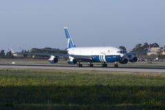 Uppdaterad rysk trafikflygplan Royaltyfri Bild