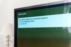 UppdateringTV med succestv ska starta om igen Arkivbild