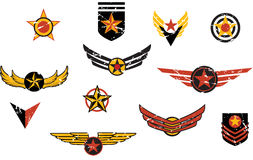 Uppdiktade militära emblemband