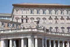 Uppehåll av påven vatican Arkivbilder