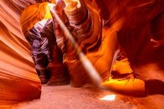 Free Upper Antelope Canyon Royalty Free Stock Image - 125325126
