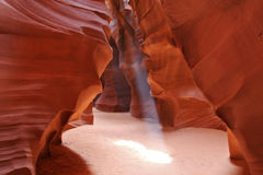 Upper Antelope Canyon.page Royalty Free Stock Images