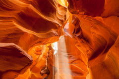 Upper Antelope Canyon, Page. Utah. Stock Photography