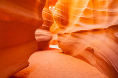 Upper Antelope Canyon, Page. Utah. Royalty Free Stock Photography