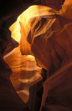 Upper Antelope Slot Canyon stock photography