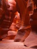 The upper Antelope Slot Canyon near Page  in  Arizona Stock Photos
