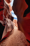 Upper Antelope (Slot) Canyon in Page, Arizona Royalty Free Stock Photos