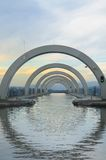 Upper Approach to the Falkirk Wheel Royalty Free Stock Photo