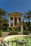 Upper Barraca Gardens Stock Photo