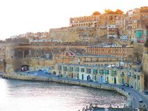 Upper Barraka Gardens, La Valetta, Malta. Upper Barraka Gardens along waterfront of La Valetta, Malta Royalty Free Stock Photo