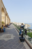 Upper Barrakka Gardens, Malta Royalty Free Stock Images
