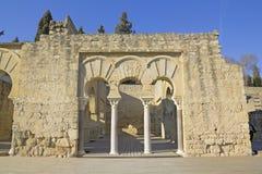 Upper Basilic Building. Medina Azahara. Cordoba, Andalusia, Spai Stock Images