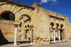 Upper Basilica, Medina Azahara. Stock Photography