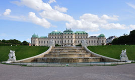 Upper Belvedere Palace, Vienna, Austria Royalty Free Stock Photo