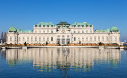 Upper Belvedere Palace, Vienna, Austria Stock Images
