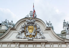 Upper Belvedere palace. Vienna Stock Photography