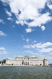 Upper Belvedere Palace in Vienna Royalty Free Stock Photo