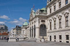 Upper Belvedere Palace in Vienna Royalty Free Stock Photos