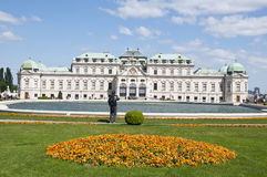 Upper Belvedere Palace in Vienna Stock Photos