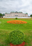 Upper Belvedere Palace in Vienna Royalty Free Stock Images