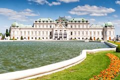 Upper Belvedere Palace in Vienna Stock Photo