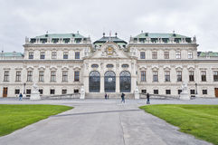 Upper Belvedere Palace in Vienna Stock Photography