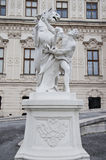 Upper Belvedere Palace in Vienna Royalty Free Stock Photography