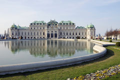 The Upper Belvedere in Vienna, Austria Stock Images
