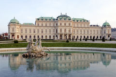 The Upper Belvedere in Vienna, Austria Stock Image